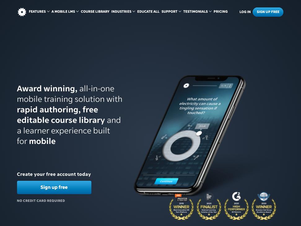 EdApp LMS Platform