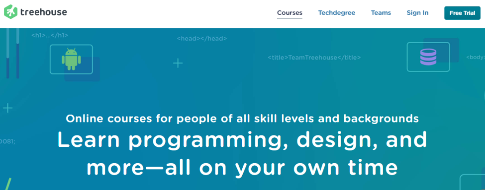 Online Training Resource - Treehouse