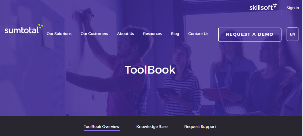Mlearning Tool - SumTotal ToolBook
