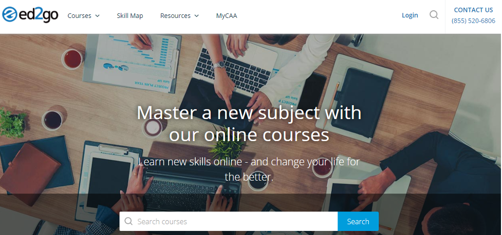 Online Training Resource - Ed2go