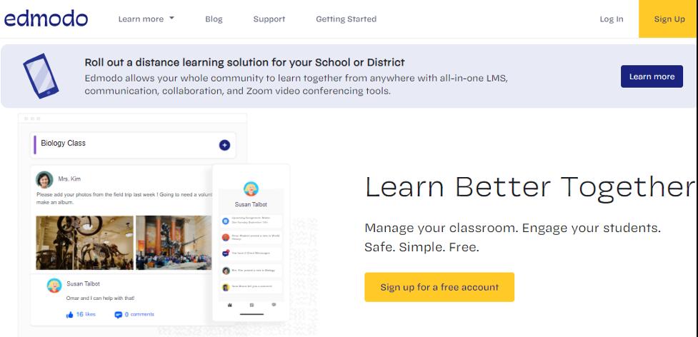 Edmodo Learning Suite