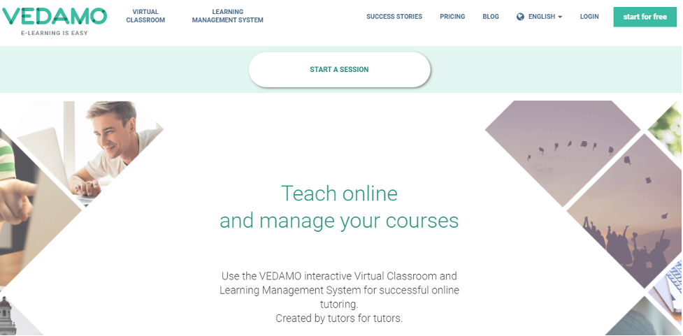 Virtual Training Platform - Vedamo
