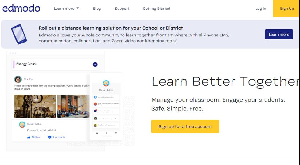 Social Learning Platform - Edmodo