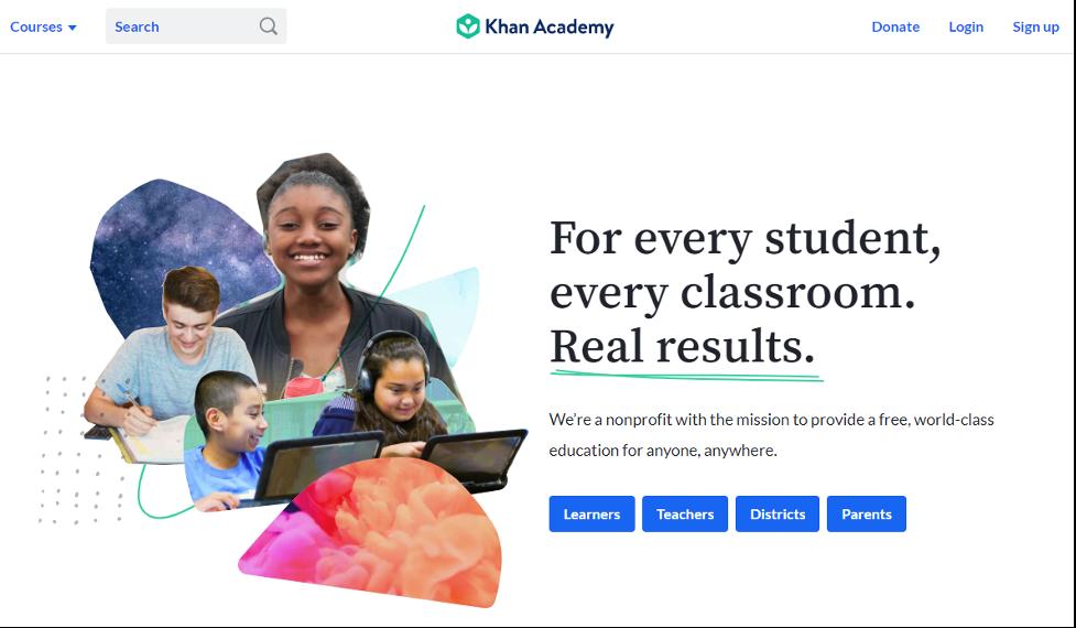 Online Training Resource - Khan Academy