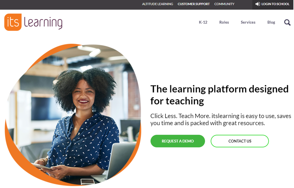 ItsLearning Learning Management System example