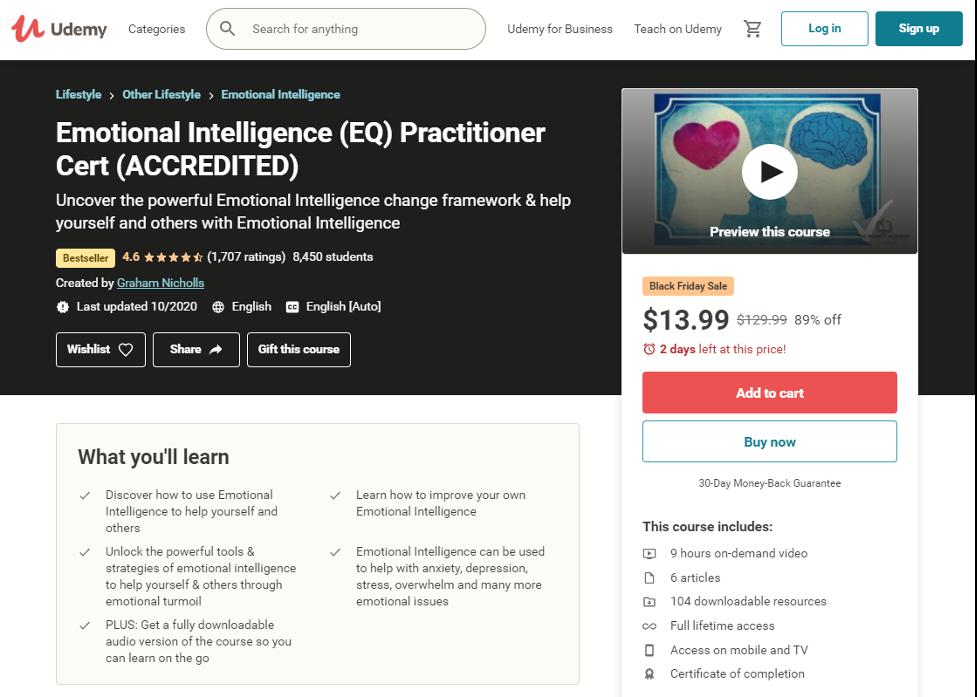 Emotional Intelligence Training Course - Udemy