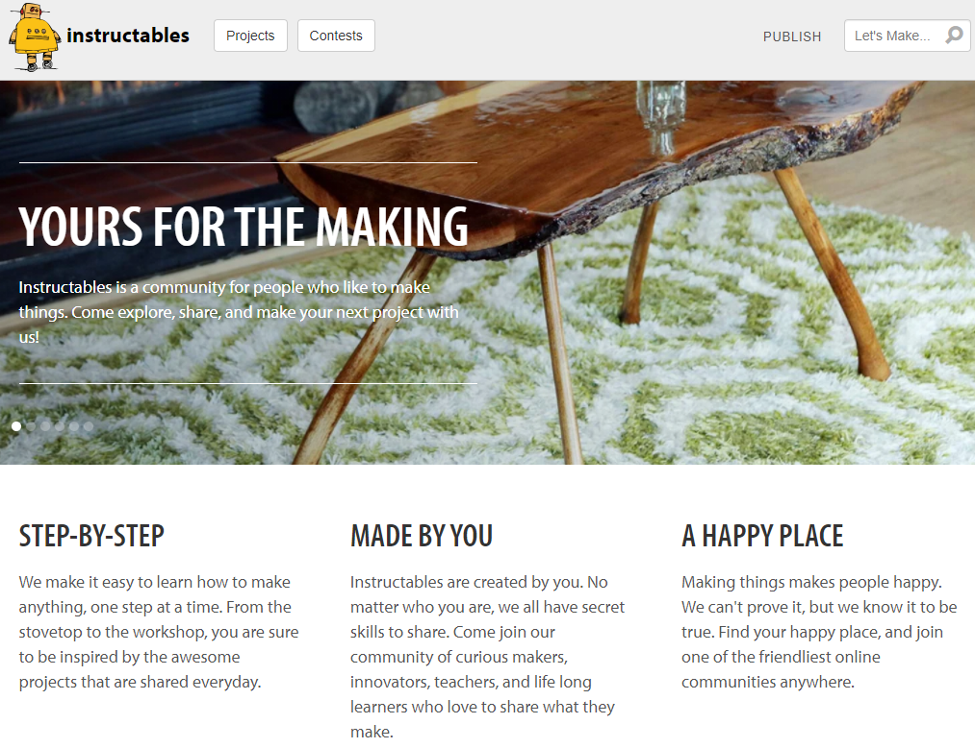 Online Training Resource - Instructables