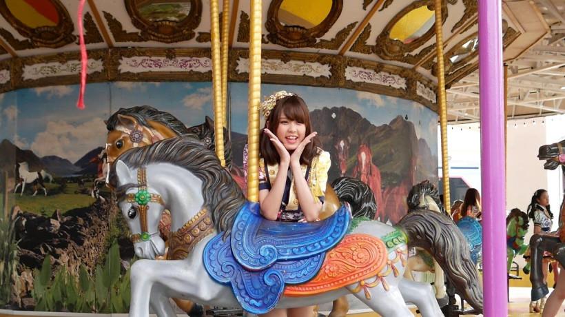 ม้าหมุน at Siam Park City (สวนสยาม)