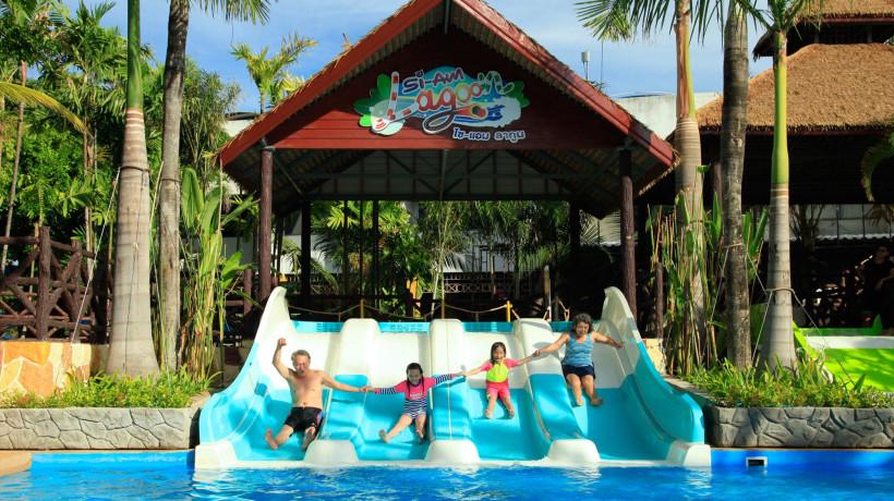 Siam Lagoon at Siam Park City (สวนสยาม)