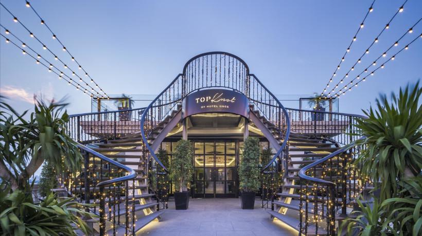 Top Knot Rooftop Bar & Restaurant (Outdoor, 9th Floor)