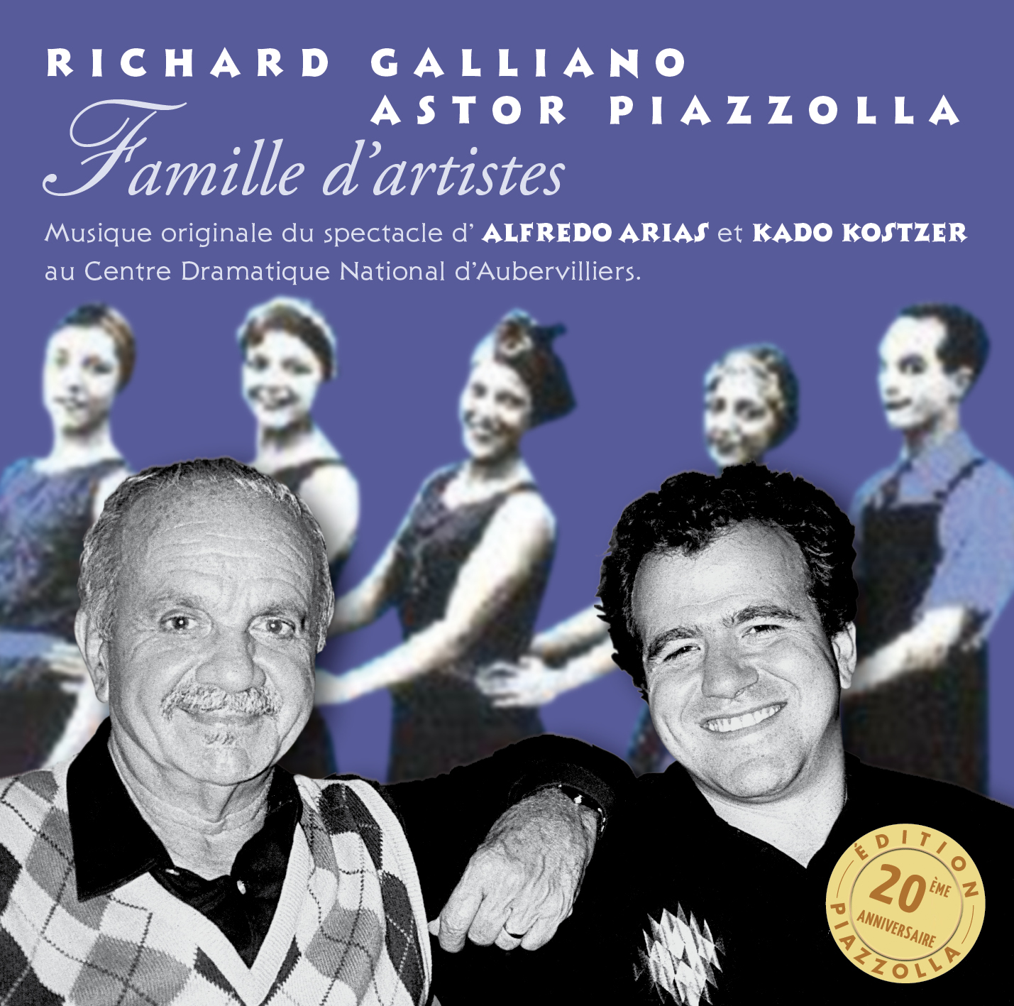 Richard Galliano - Famille d'artistes