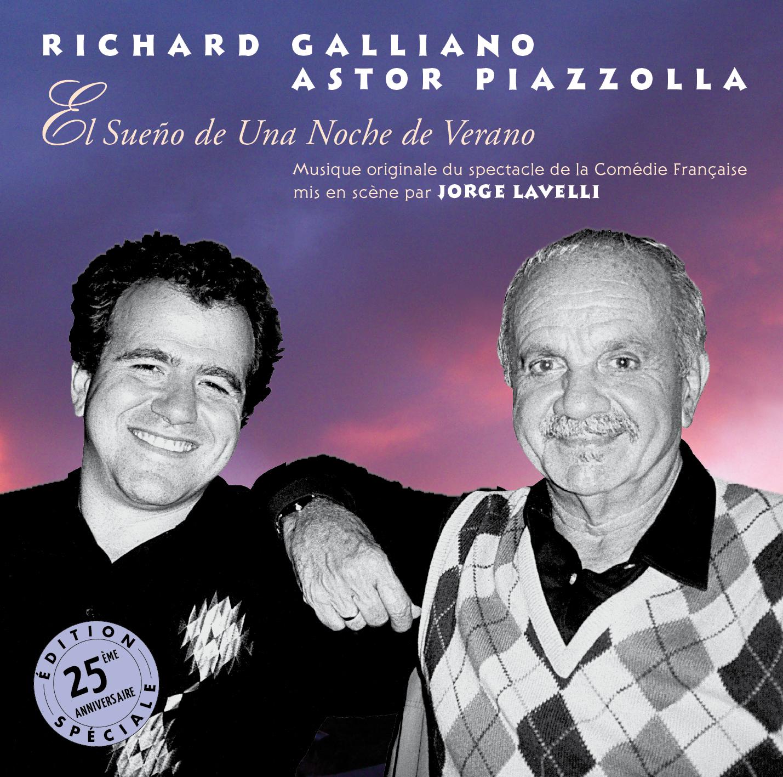 Richard Galliano & Astor Piazzolla - Le Songe d'Une Nuit d'Été (El Sueño de una Noche de Verano)