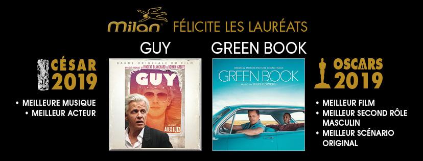 Les lauréats des César et des Oscars !
