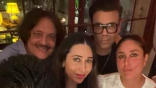 Kareena Kapoor की हाउस पार्टी में पहुंचे करण जौहर, करिश्मा , अमृता अरोड़ा और मनीष मल्होत्रा