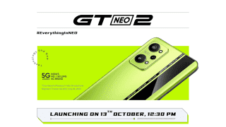 Realme GT Neo 2 set to launch on October 13, key specs confirmed