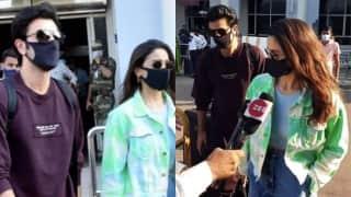 Ranbir Kapoor, Alia Bhatt jet off to Jodhpur ahead of his 39th birthday