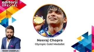 Olympic Gold Medallist Neeraj Chopra on editorji Special