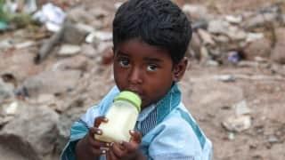 Crisis of child malnutrition