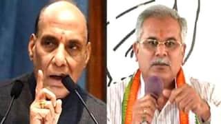 Bhupesh Baghel ने राजनाथ के बयान पर उठाए सवाल, कहा- सावरकर महात्मा गांधी से कब मिले थे ?