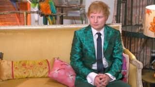Ed Sheeran tests positive