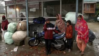 Scared for their lives, migrants labourers leave Kashmir
