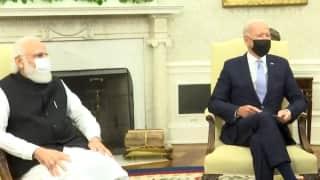 PM Modi Joe Biden Meeting: বাইডেনের সঙ্গে বৈঠক মোদীর, দ্বিপাক্ষিক সম্পর্ক আরো মজবুত করার বার্তা