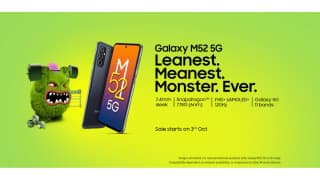Samsung Galaxy M52 5G launched in India: check price, specs