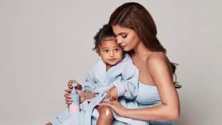 Posing with daughter Stormi, Kylie Jenner announces new baby care brand 'Kylie Baby'