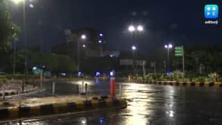 बारिश से गिरा तापमान
