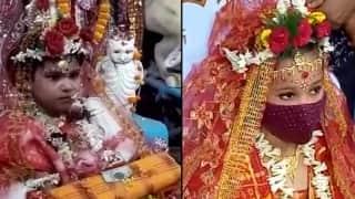 Kumari Puja: মহানবমীতেও মহাসমারোহে পালিত হল কুমারী পুজো