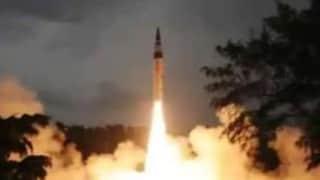India tests Agni-5 missile