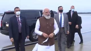 PM modi's US trip: ওয়াশিংটন পৌঁছলেন মোদী, আজই সাক্ষাৎ কমলা হ্যারিসের সঙ্গে