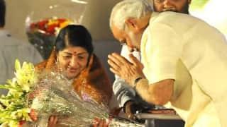 PM Modi ने Lata Mangeshkar को दी जन्मदिन की बधाई, कहा- आपकी सुरीली आवाज पूरी दुनिया में गूंजती है