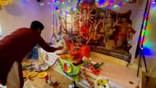 Durga Puja 2021 : সুদূর জার্মানিতে ভোগের খিচুড়ি, ড্রেসডেনে জমজমাট বাঙালির দুর্গাপুজো