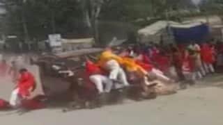 Chhattisgarh के जशपुर में कार सवार ने लोगों पर चढ़ाई कार 1 की मौत 10 से ज्यादा ज़ख्मी