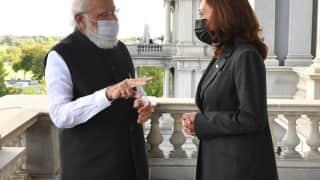 Narendra Modi: কমলা হ্যারিস বিশ্বের কাছে অনুপ্রেরণা, বৈঠকের পর মার্কিন উপরাষ্ট্রপতির ভূয়সী প্রশংসা মোদীর