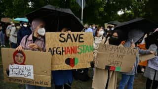 Protest against Taliban