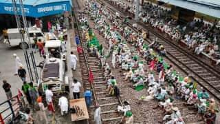 Rail roko: People stranded as farmers block railway tracks in protest against Lakhimpur Kheri incident