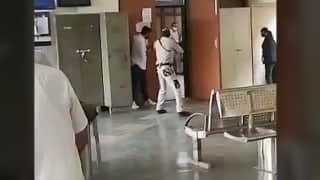 Dramatic video: Shootout inside Delhi court, gangster & 3 others dead