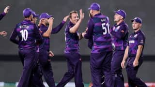 T20 World Cup 2021: Scotland stun Bangladesh in campaign opener, full highlights