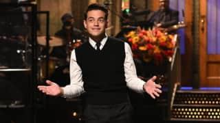 Bond villain Rami Malek makes his Saturday Night Live debut, Daniel Craig does a cameo