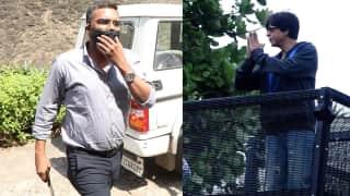 NCB sleuths visit 'Mannat'