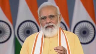 Became CM, PM without caste or dynastic background: PM Modi