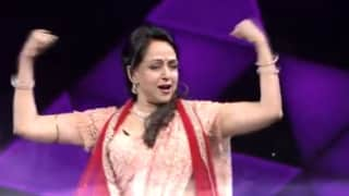 Super Dancer Chapter 4:  हेमा मालिनी ने पति धर्मेंद्र के गाने पर किया शानदार डांस, दीवाने हुए फैंस