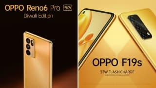 Oppo launches Reno6 Pro 5G Diwali Edition, Oppo F19s for festive season