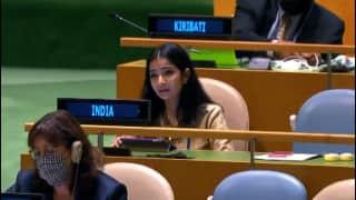 UNGA में पाकिस्तान ने उठाया आतंकवाद का मुद्दा, भारत ने कहा- ढोंग करते हैं इमरान खान
