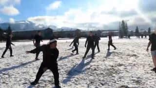 Indo-USA: अलास्का में भारत-अमेरिका संयुक्त सैन्य ट्रैनिंग, जवानों ने बर्फ में खेली कबड्डी
