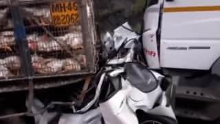 Mumbai-Pune Expressway pile-up, 3 commuters dead