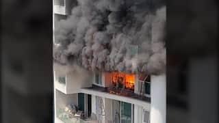 Mumbai Fire: 60 मंजिला लग्जरी बिल्डिंग में लगी आग, एक शख्स की मौत