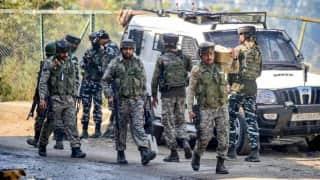 Terrorist gunned down in J&K